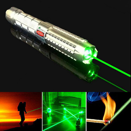 Green Burning 10000mW High Power Mace Laser Pointer Light Cigarette/Match Class IV